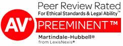 "Donald D. Vanarelli has been awarded an ""AV Preeminent"" rating from Martindale-Hubbell"