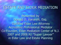 Elder Mediation II PowerPoint Presentation
