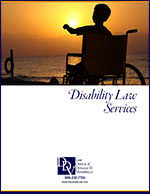 Click here to download the Disability Law Services Brochure.